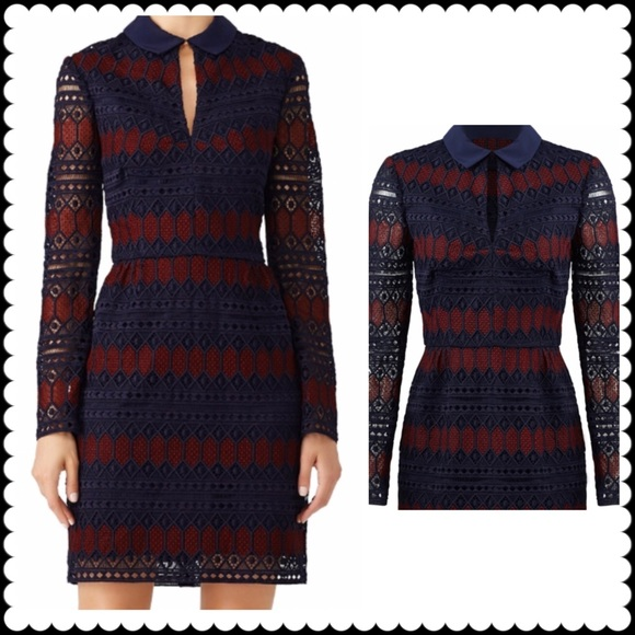 Trina Turk Dresses & Skirts - TRINA TURK Lave Colorblock Rodin Dress Sz 8